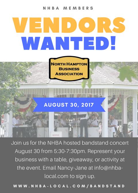 NHBA Sponsored Bandstand Concert - August 30, 2017