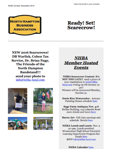 NHBA | October 2016 Newsletter