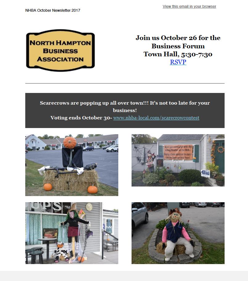 NHBA October Newsletter