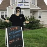 Seacoast Scooters | Scarecrows of the Seacoast Contest by North Hampton Business Association