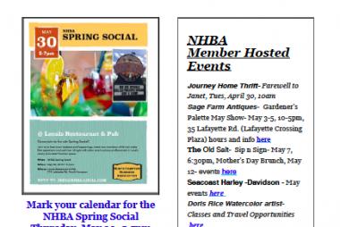 NHBA April 2019 Newsletter