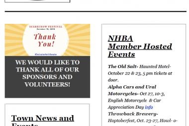 North Hampton Business Association | October 2019 News