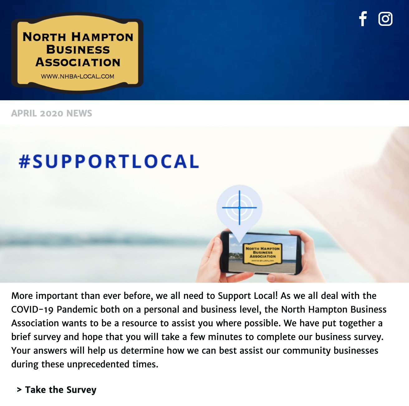 NHBA Email Newsletter April 2020