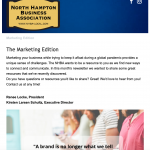 April 2021 Newsletter The Marketing Edition